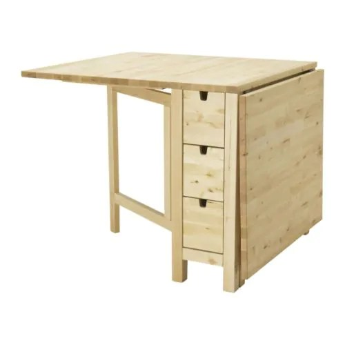 Ikea Leaf Table Norden Gateleg Table - Ikea