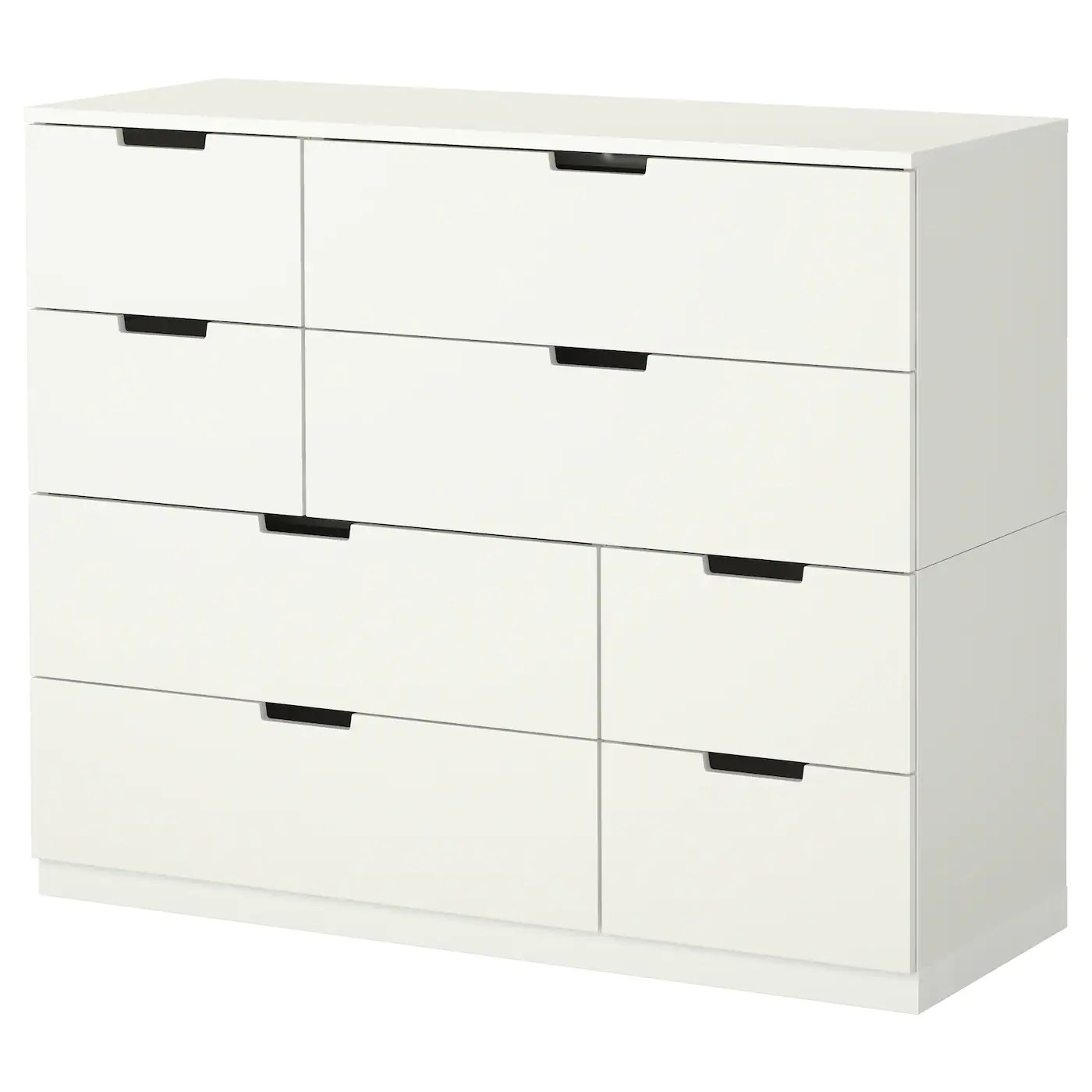 Apotheker Unterschrank 30 Cm Nordli Chest Of 8 Drawers White 120x97 Cm Ikea