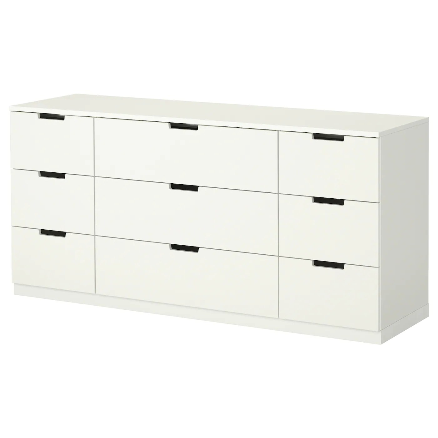 Kast 80 Cm Breed 40 Diep Nordli Chest Of 9 Drawers White 160x75 Cm Ikea