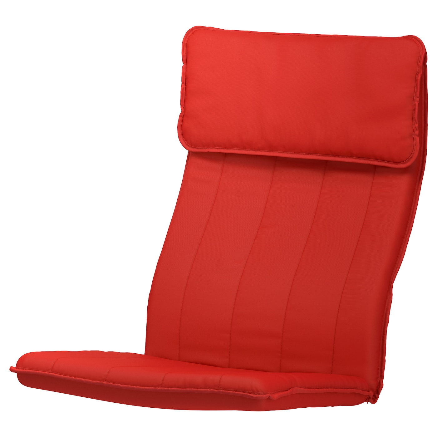 Ikea Pello Sessel PoÄng Armchair Cushion Ransta Red Ikea