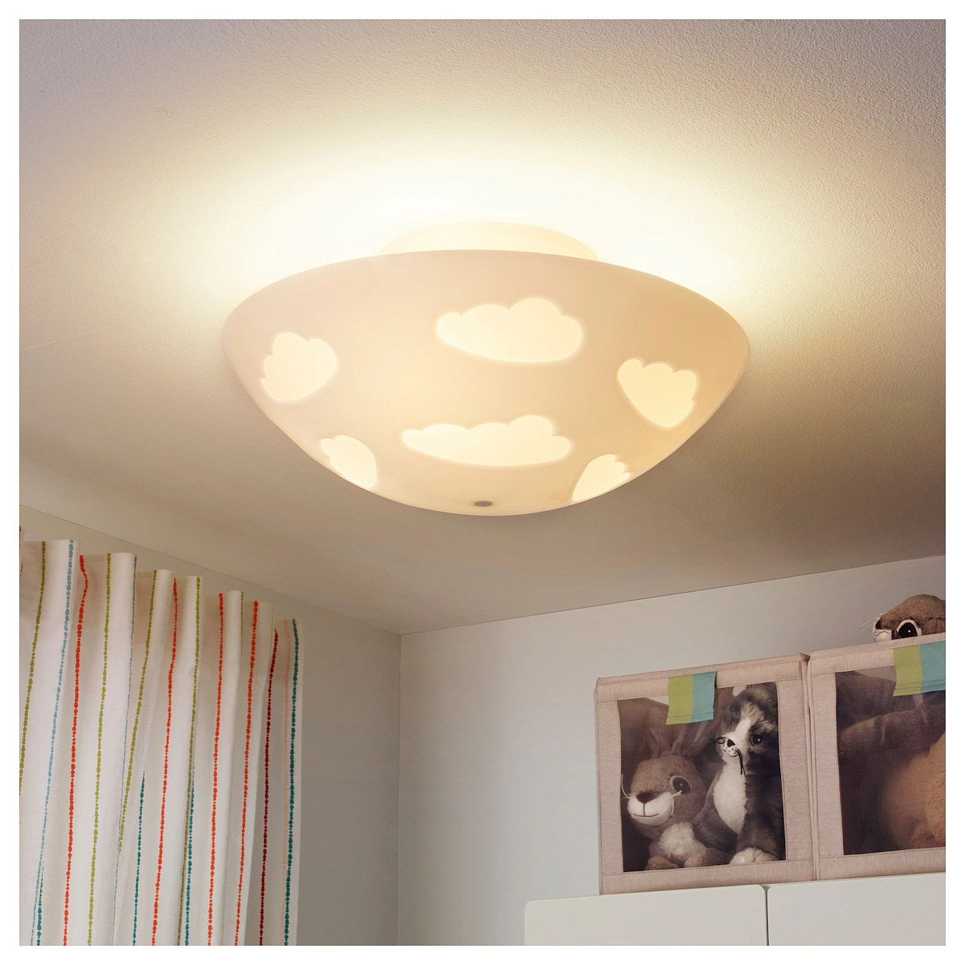 Child Safe Lamps Skojig Ceiling Lamp White Ikea