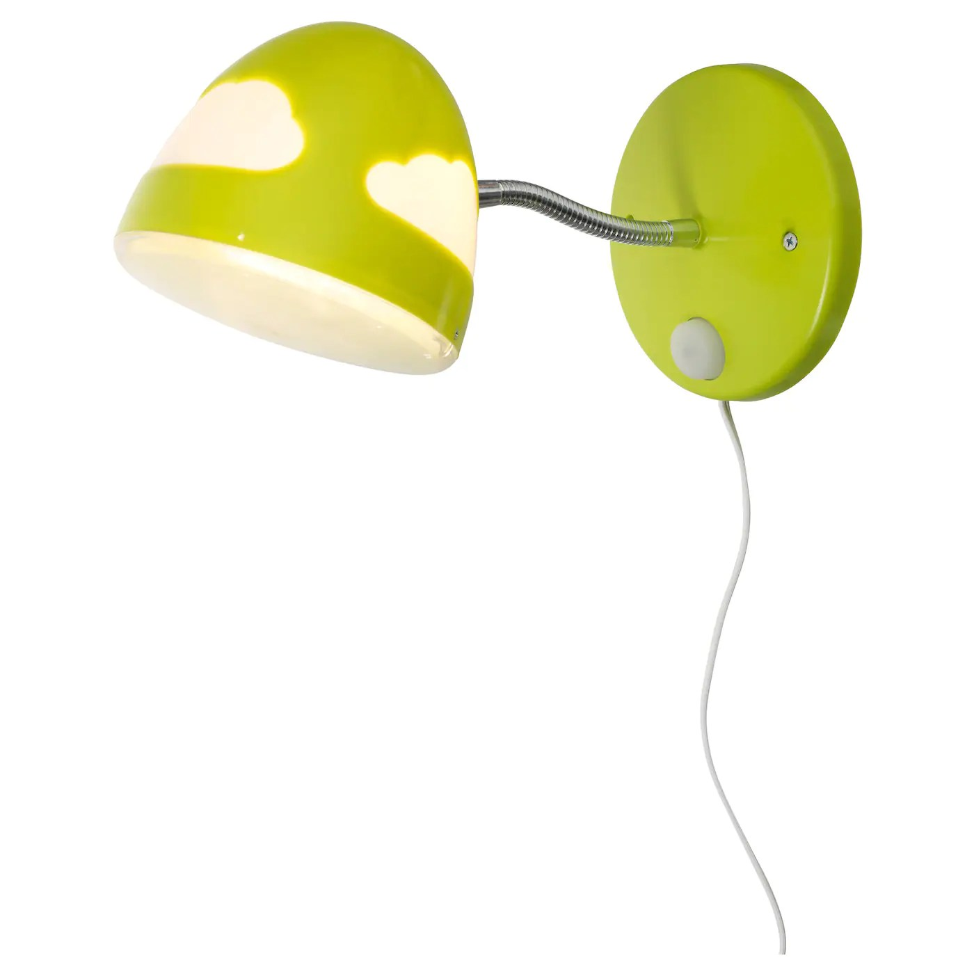 Child Safe Lamps Skojig Wall Lamp Green Ikea