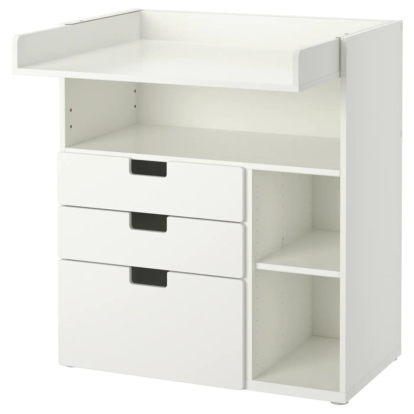 Mueble Cambiador Bebe Ikea Stuva Changing Table With 3 Drawers White 90x79x102 Cm Ikea