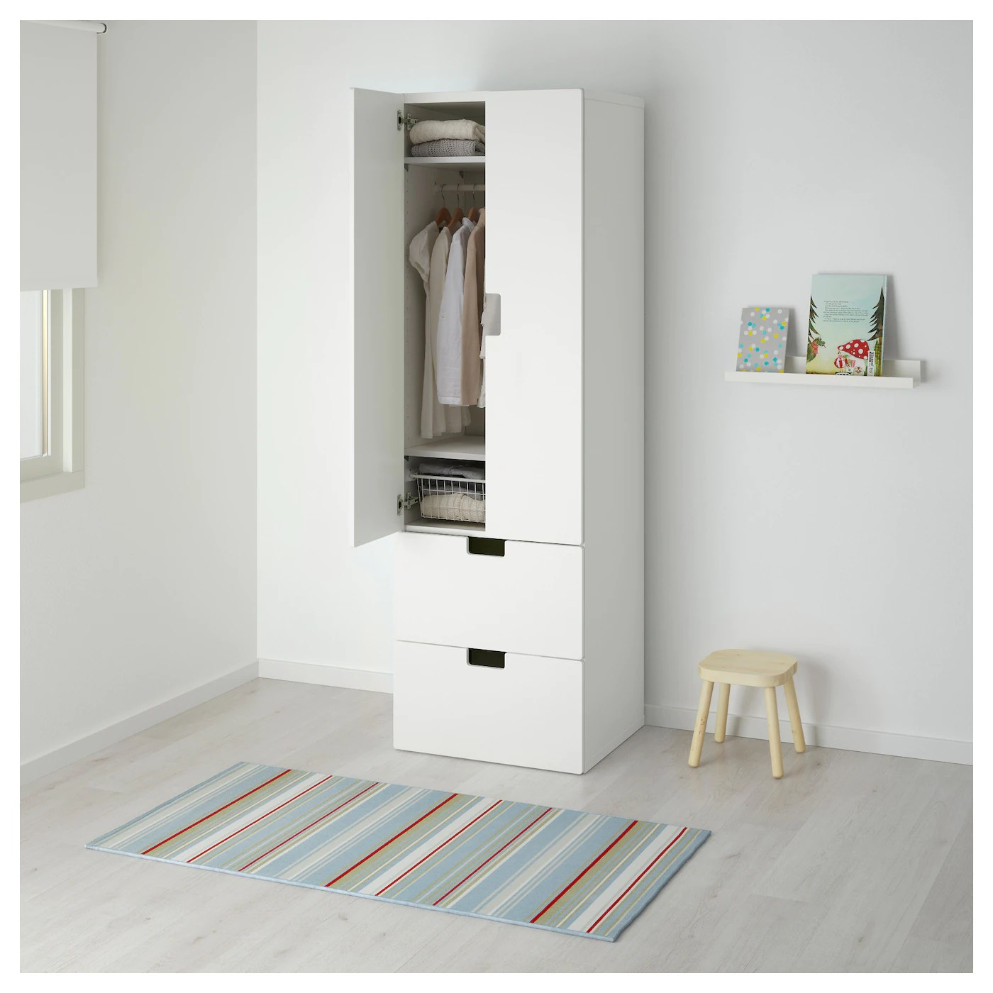 Ikea Stuva Armoire Stuva Storage Combination W Doors Drawers White White