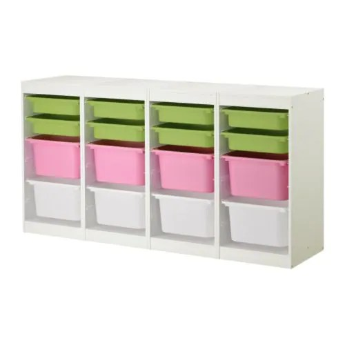 Toy Organizer Ikea Trofast Storage Combination - Ikea
