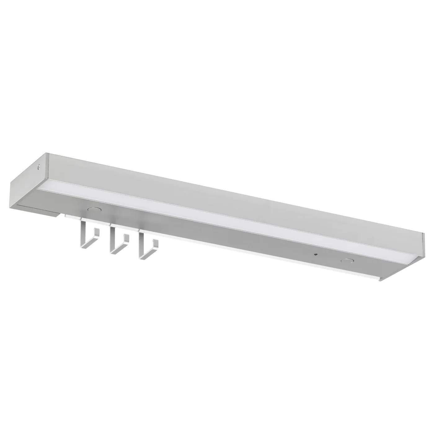 Led Plafondplaat Utrusta Led Worktop Lighting Aluminium Colour 40 Cm Ikea