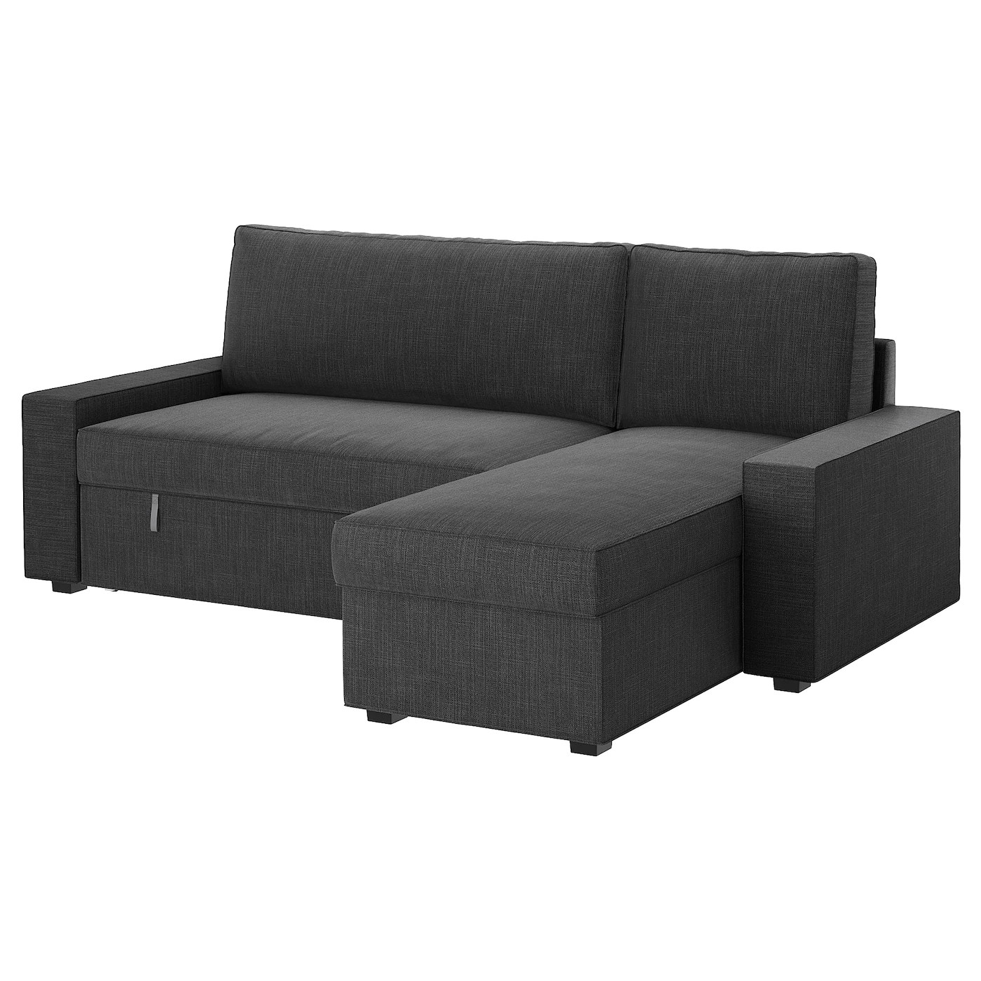 Ikea Vilasund Sofa Bed Vilasund Sofa Bed With Chaise Longue Hillared Anthracite