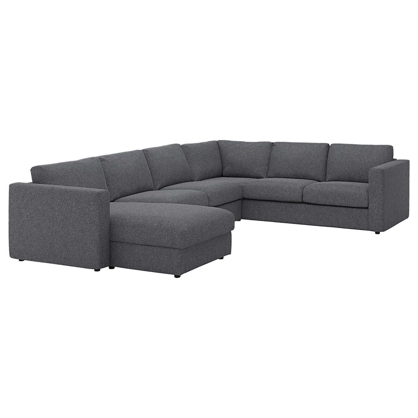 La Chaise Longue Catalogue Vimle Corner Sofa 5 Seat With Chaise Longue Gunnared Medium Grey