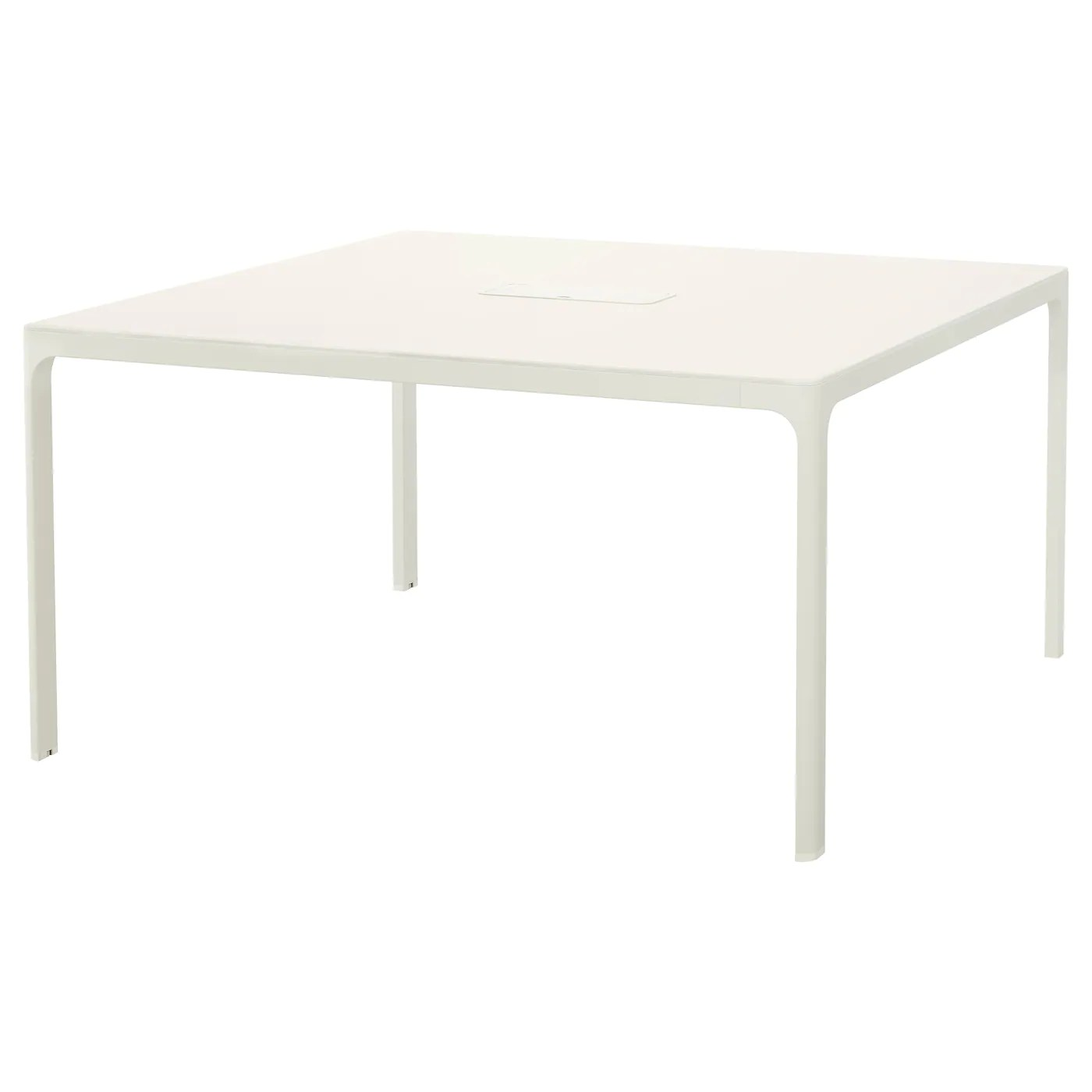 Table Carree Ikea Galant Storage Combination With Drawers White 160 X 160 Cm Ikea