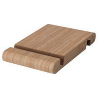 BERGENES Holder for mobile phone/tablet Bamboo - IKEA