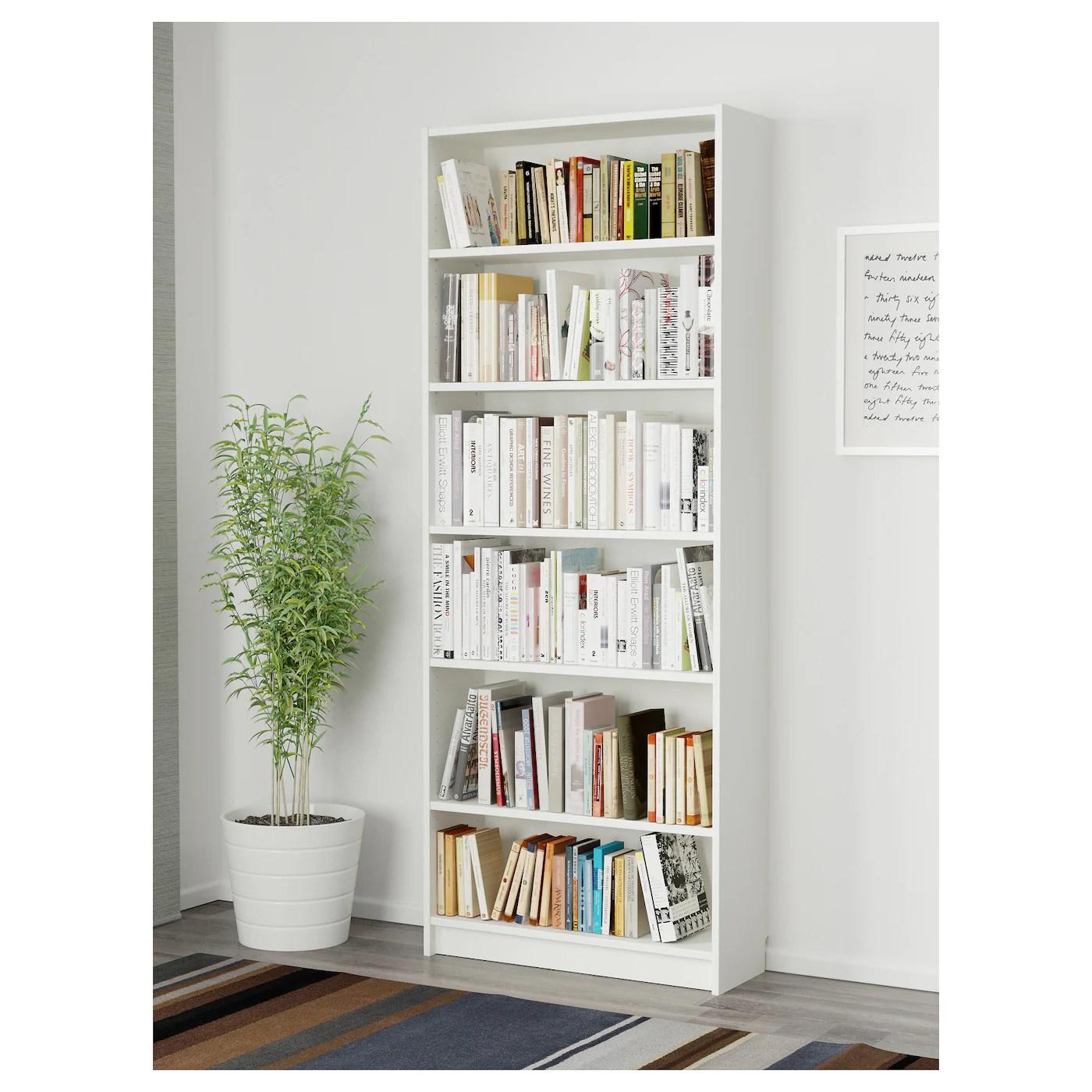 Billy Bookcase White 80 X 28 X 202 Cm Ikea
