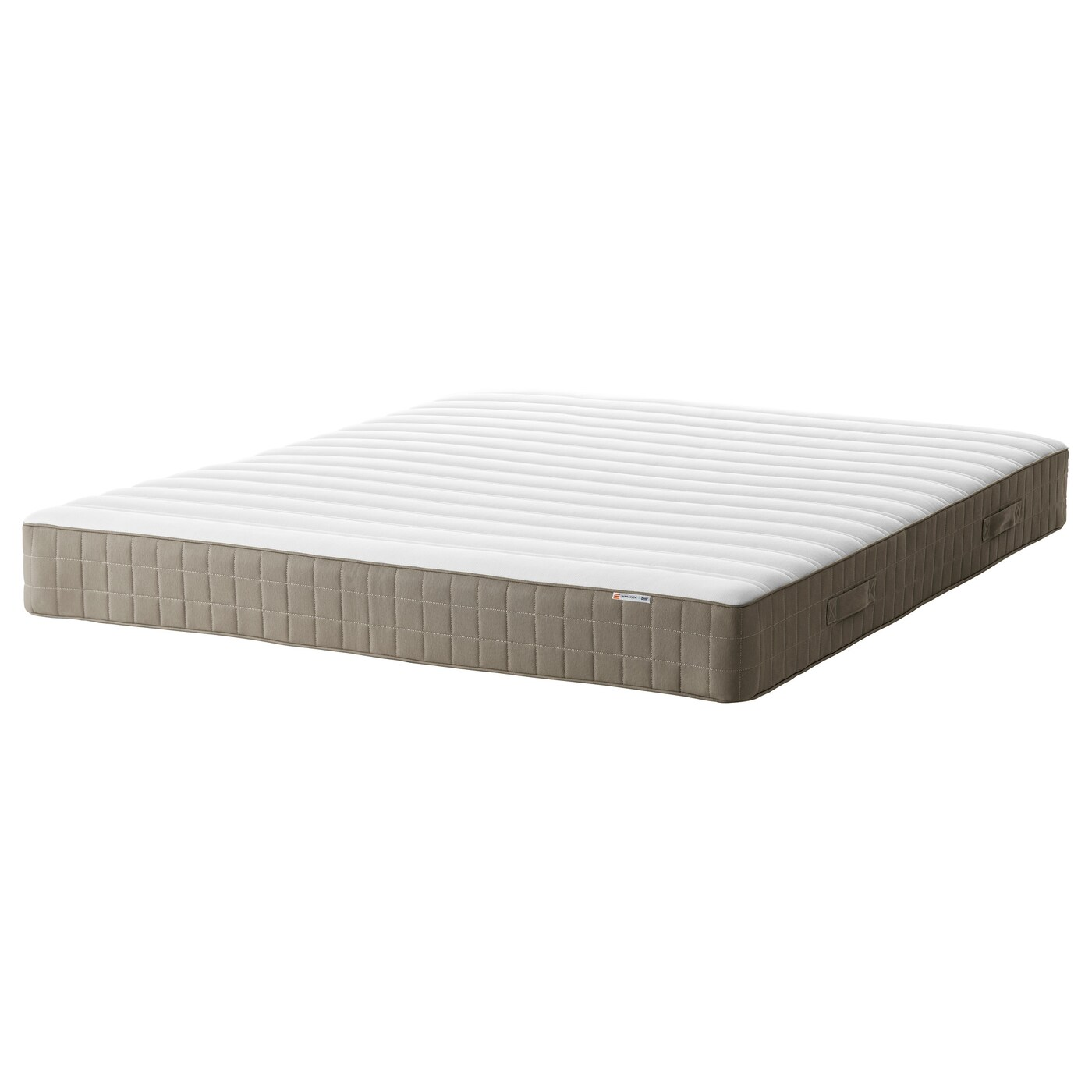 Ikea Mattress Hamarvik Sprung Mattress Firm Dark Beige Standard King Ikea