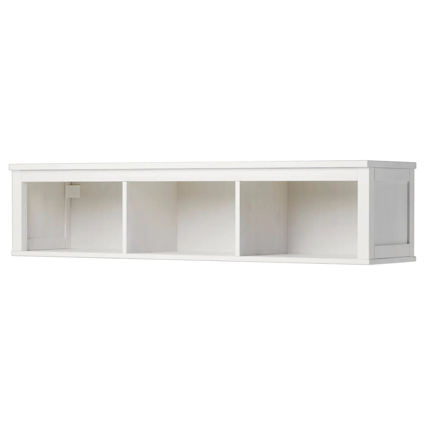 Ikea Küchenregal 20 Cm Hemnes Wall Bridging Shelf White Stain 148 X 37 Cm Ikea