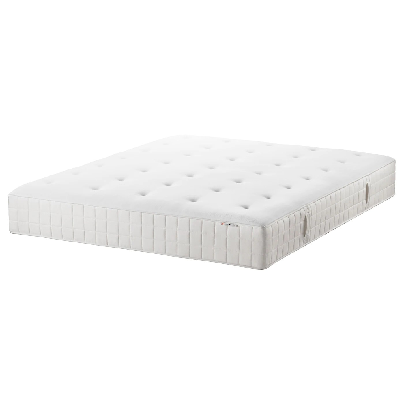 Thin Mattress Topper Hyllestad Pocket Sprung Mattress Medium Firm White