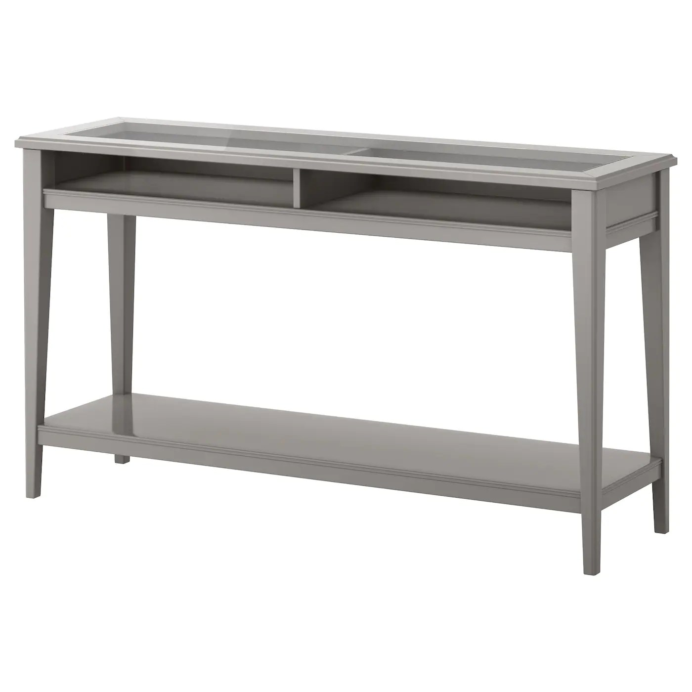 Console De Table Liatorp Console Table Grey Glass