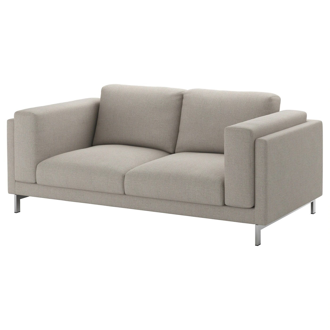 Sofa Füße Chrom Nockeby Legs For 2 Seat Sofa Chrome Plated