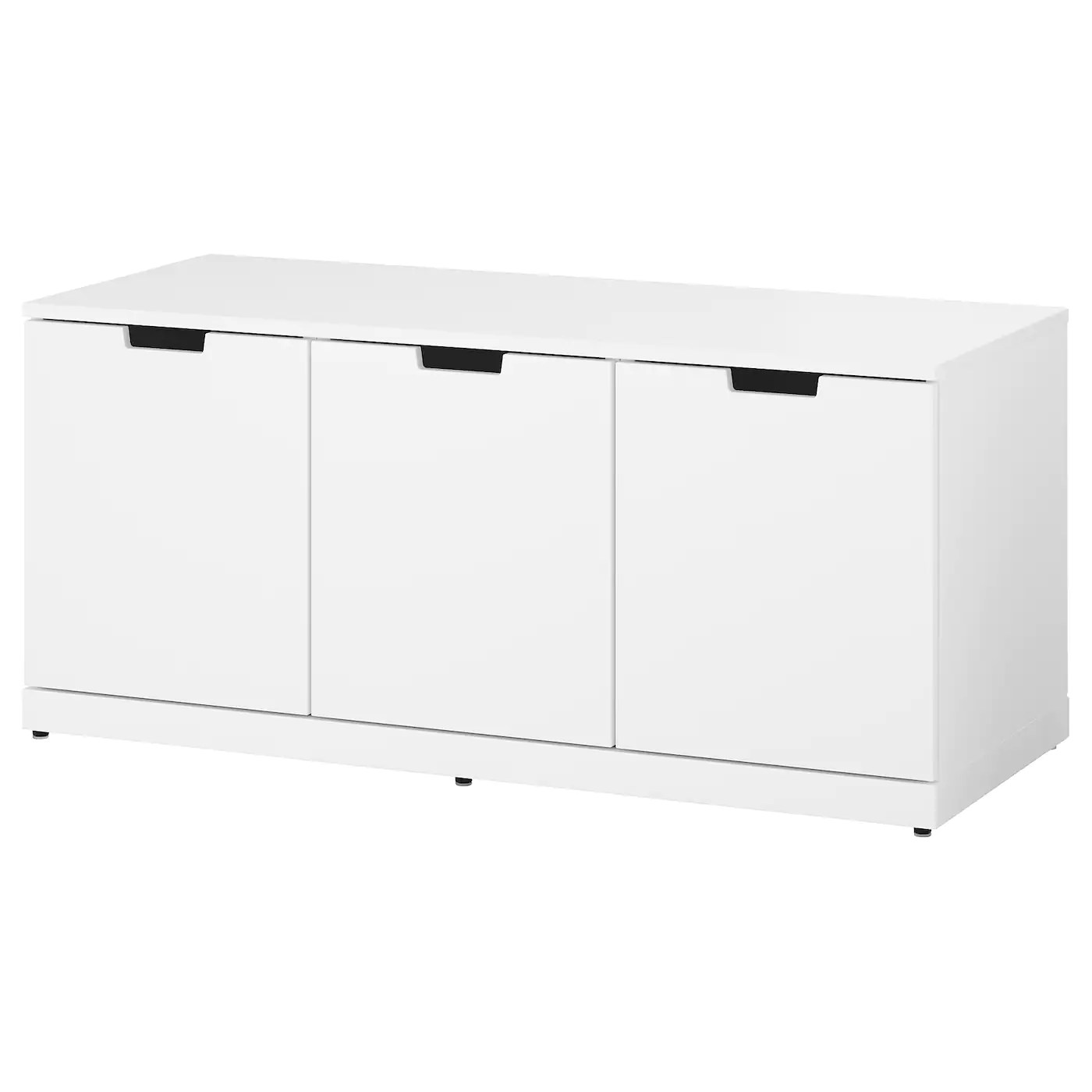 Ikea Kommode 60 X 120 Nordli Chest Of 3 Drawers White