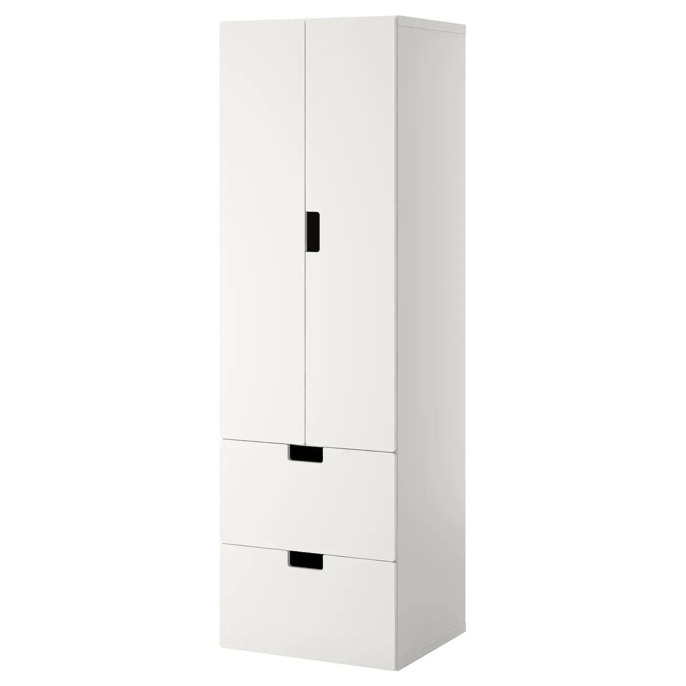 Kast 80 Cm Breed 40 Diep Stuva Storage Combination W Doors Drawers White White