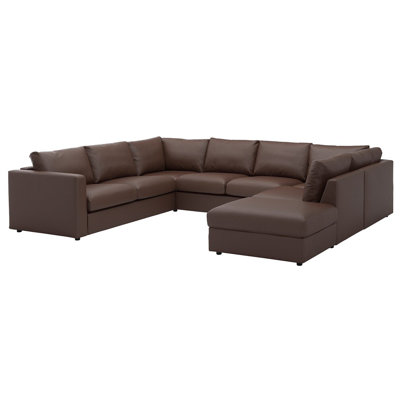 U Form Sofa Ikea Vimle U Shaped Sofa 6 Seat With Open End Farsta Dark