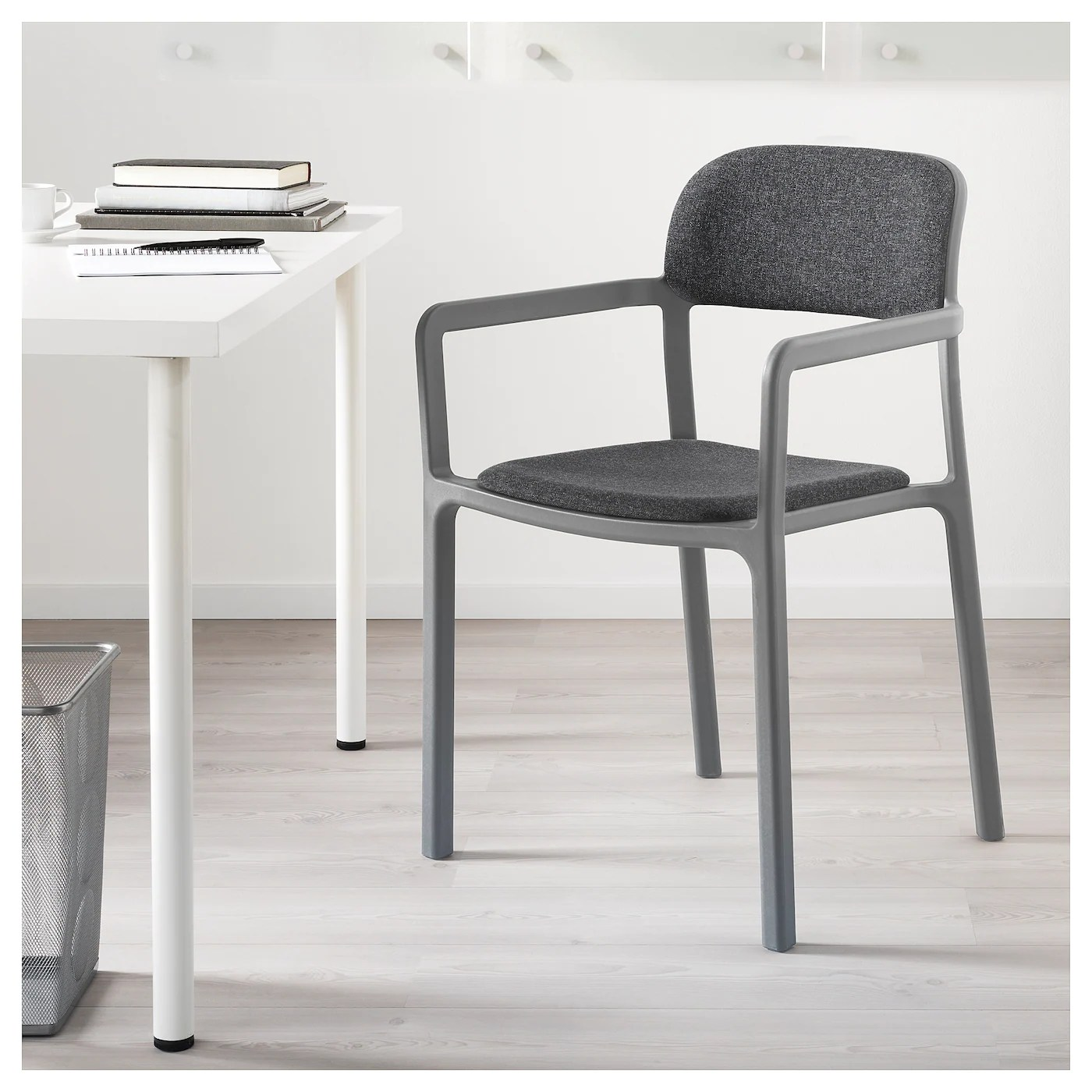 Ikea Bettsofa Ypperlig Ypperlig Chair With Armrests Gunnared Dark Grey Ikea