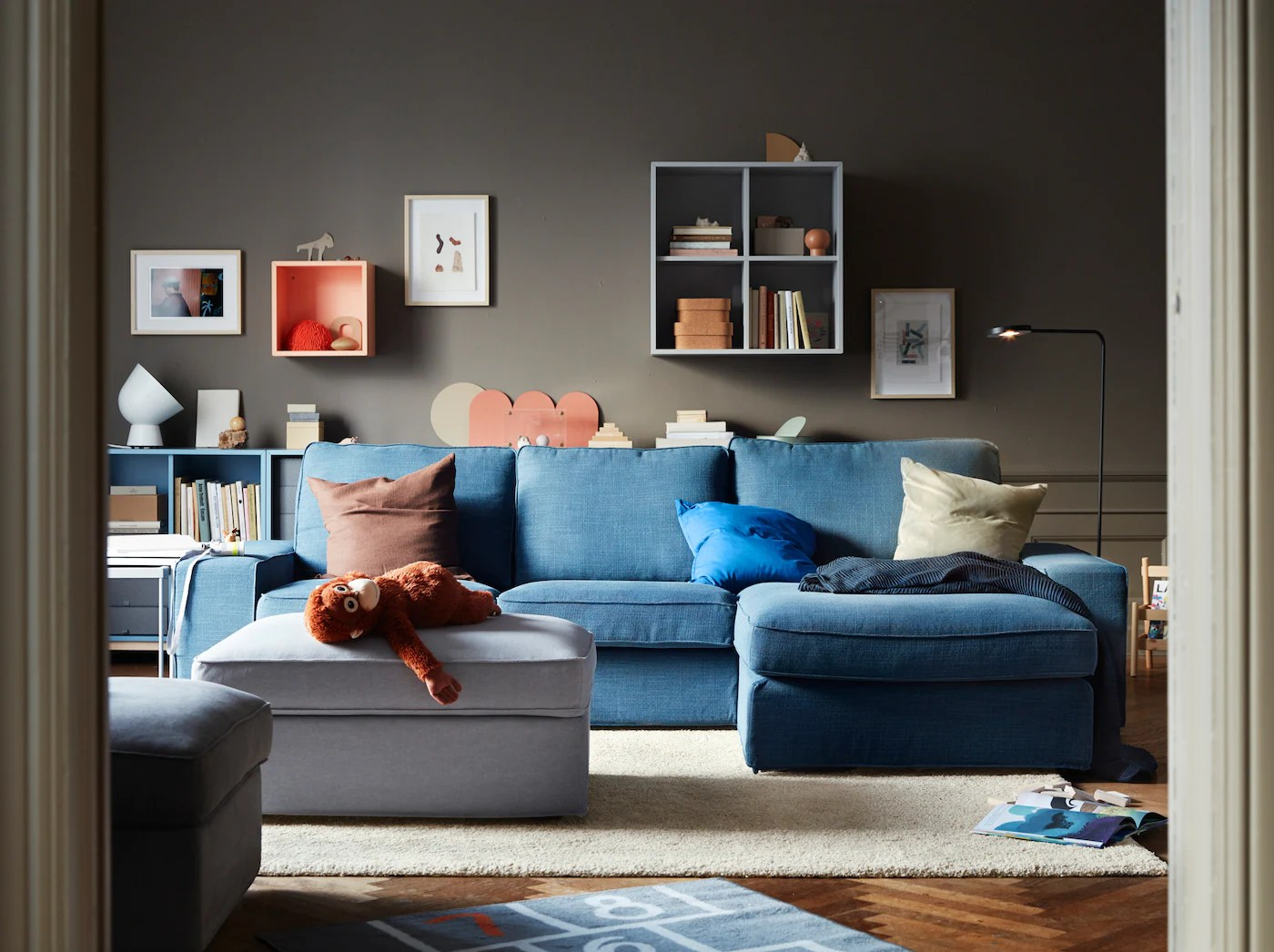 A Living Room For Big And Small Ikea
