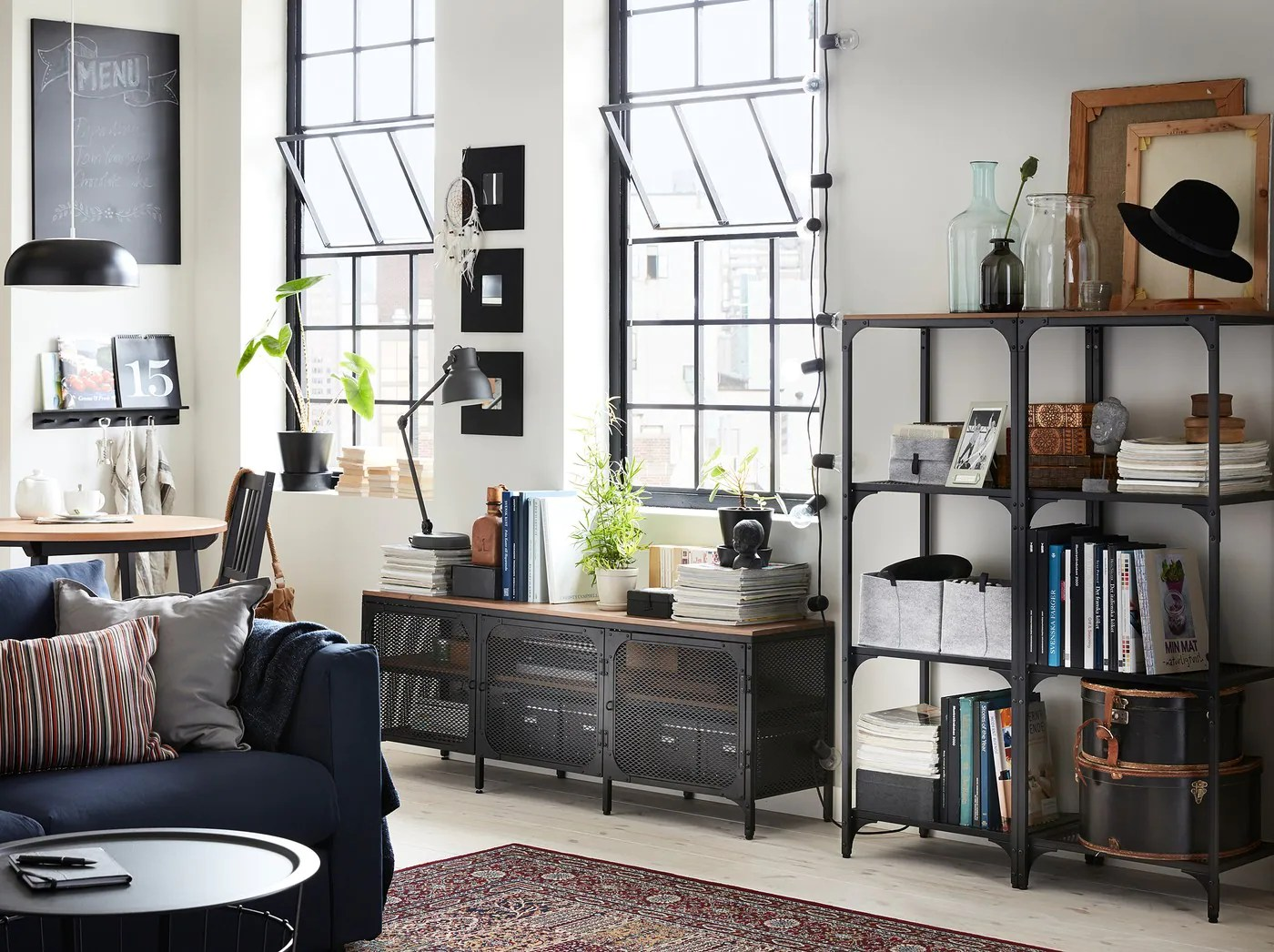 Buffet Enfilade Ikea Industrial Style That's Raw Yet Homely - Ikea