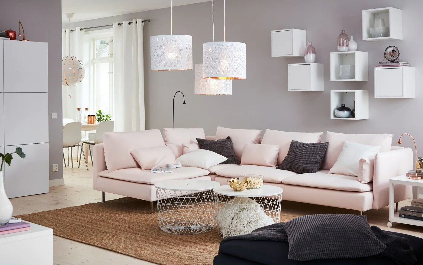 Styles For Living Room A Contemporary Living Room With A Contemporary Style Ikea