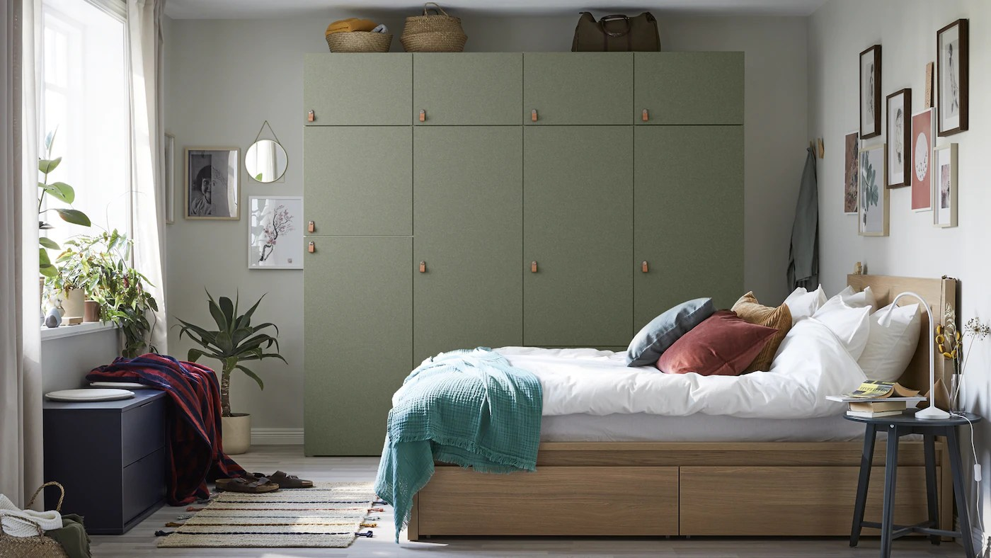 Ikea Mandal Bett Bedroom Furniture - Ikea