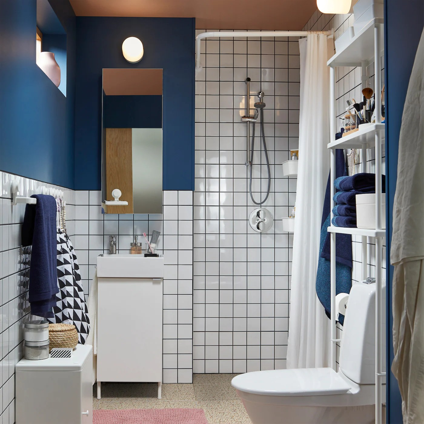 A High End Bathroom Look At A Low Price Ikea Ca