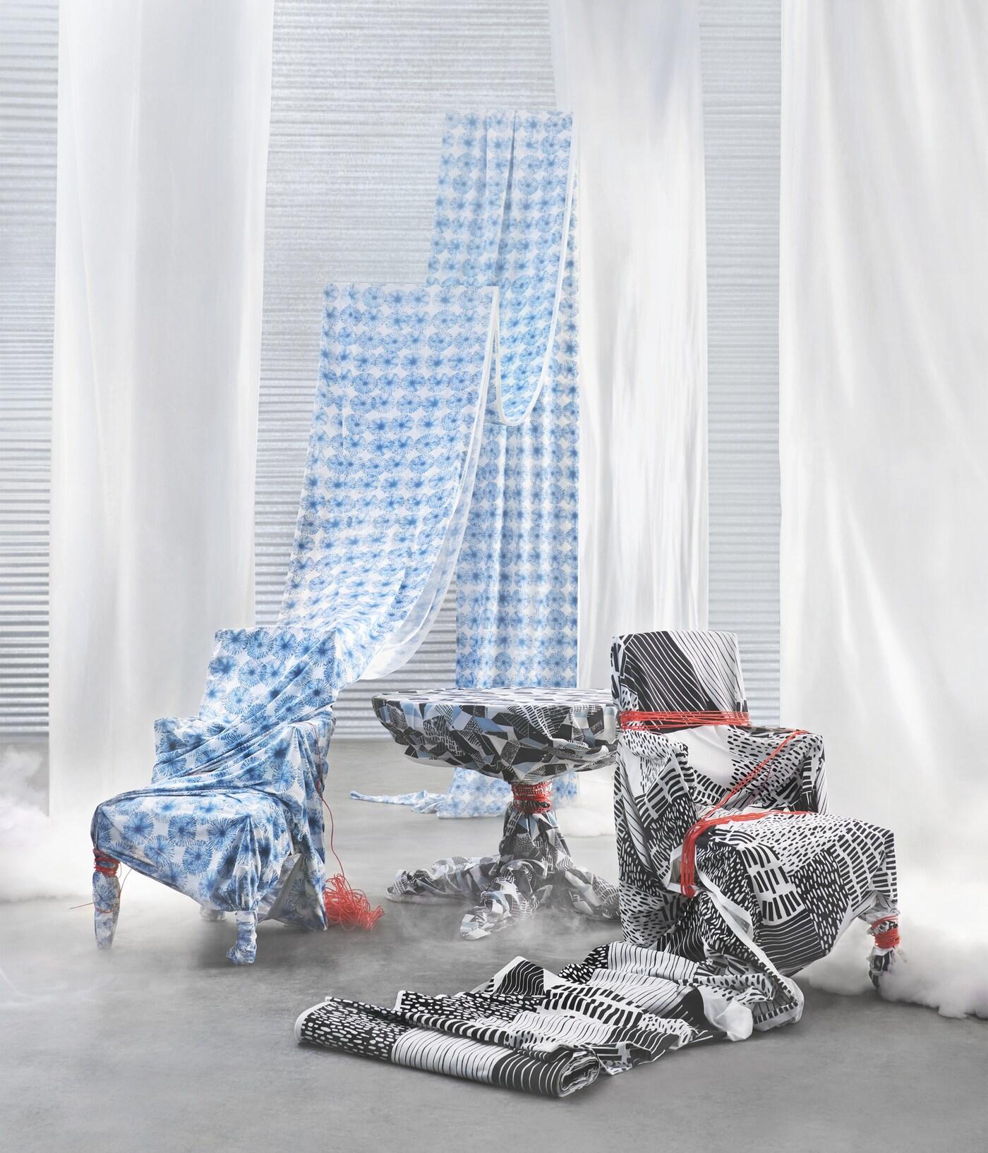 Neuen Stoffe Von Ikea