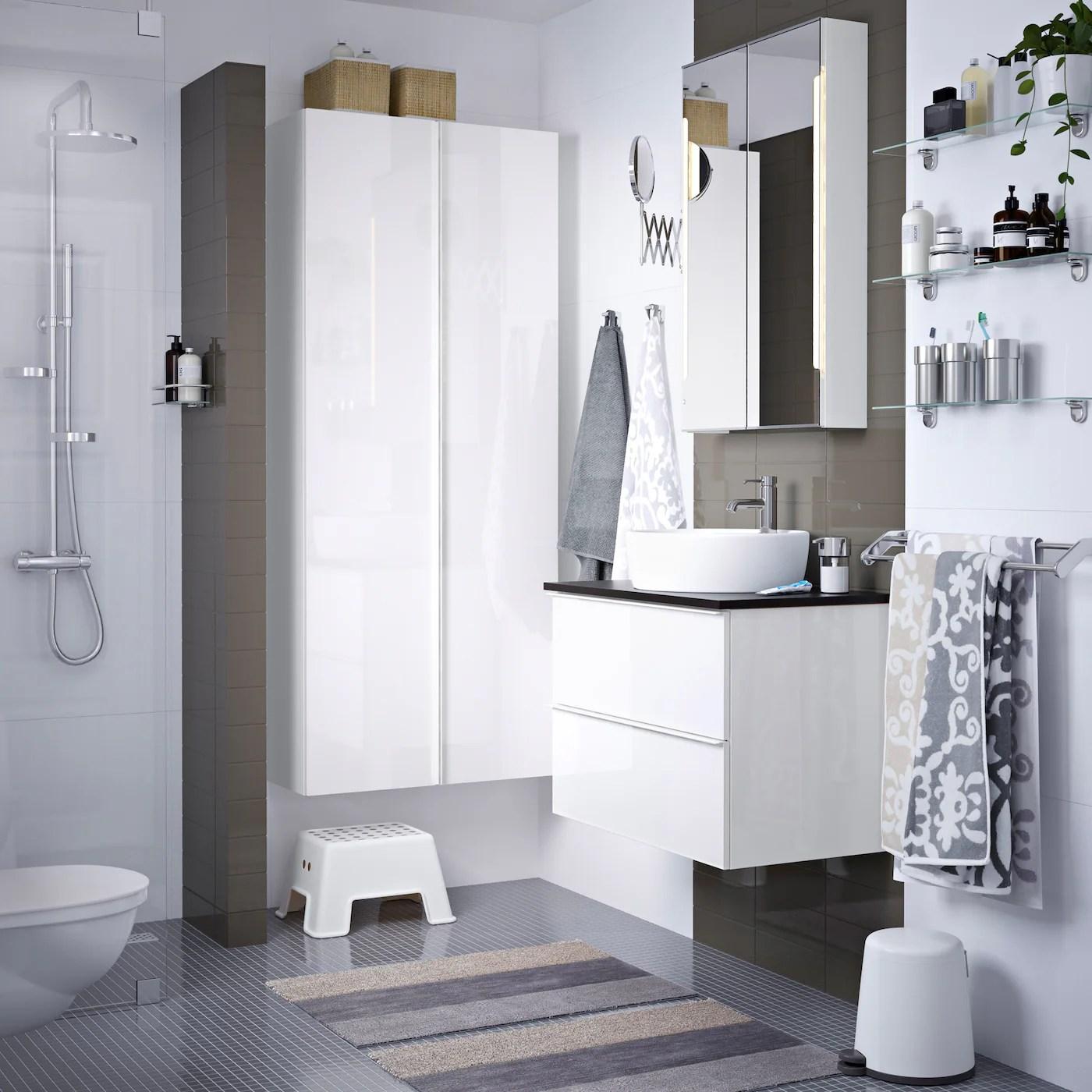Badezimmer Godmorgon Hochschrank Hochglanz Bad Hochschrank Phnix