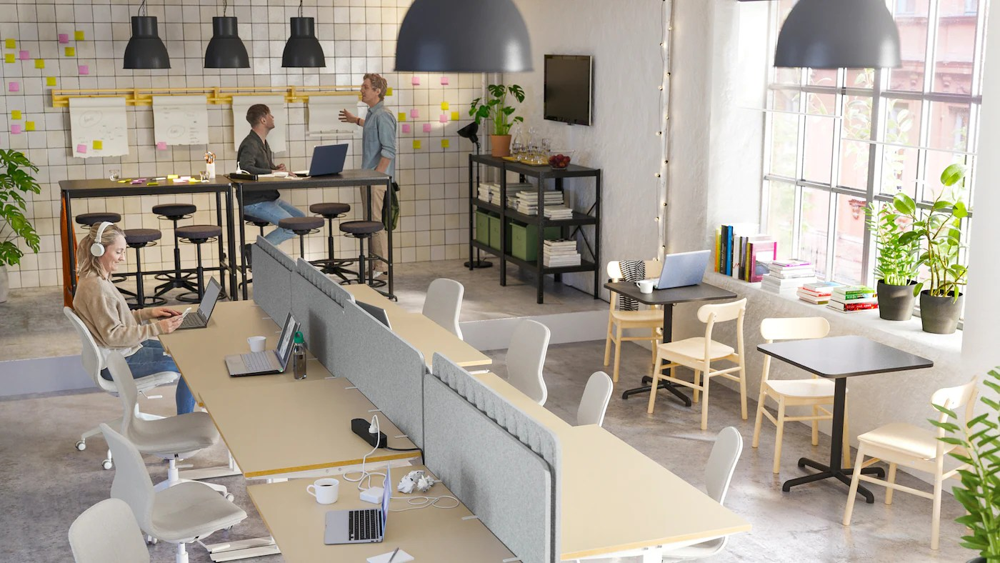 Zone Flessibili Per Stili Diversi Di Co Working Ikea It