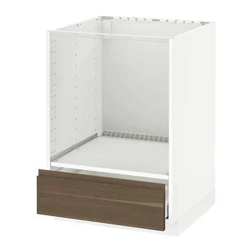 Herd Unterschrank Ikea Metod / Maximera Base Cabinet For Oven With Drawer - White ...