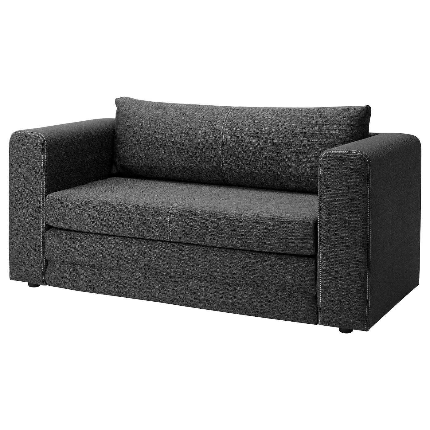 Askeby Two Seat Sofa Bed Grey Ikea