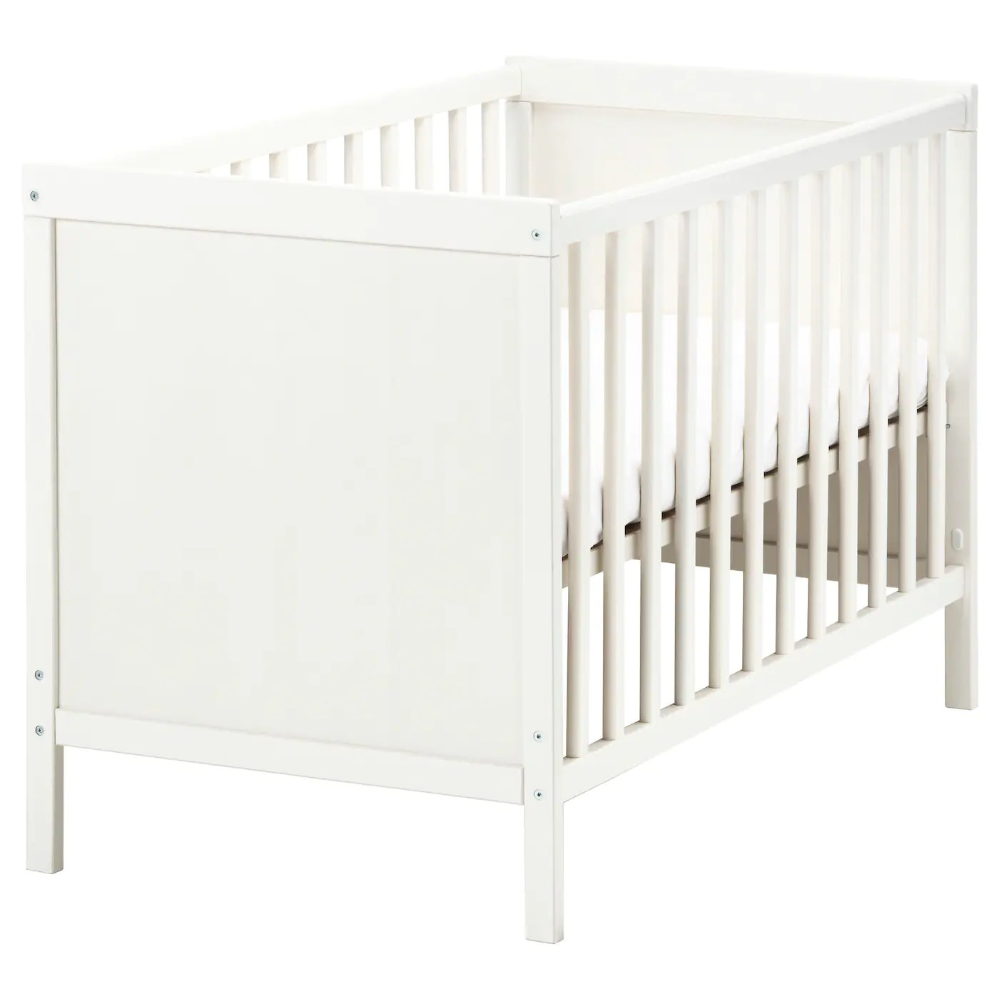 Baby Cradle Dimensions Cot Sundvik White