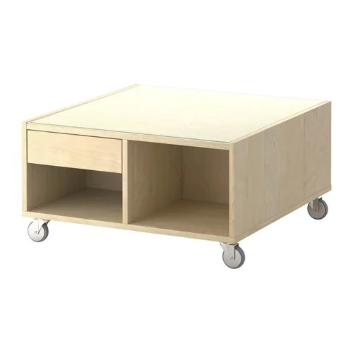 Couchtisch Java Boksel Coffee Table - Birch Veneer - Ikea