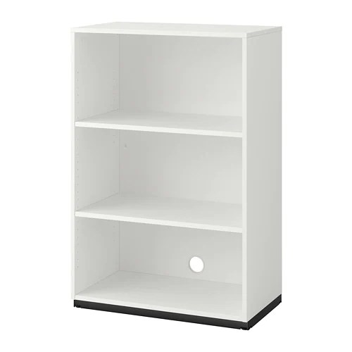 Galant Shelf Unit White Ikea - Ikea Bueromoebel