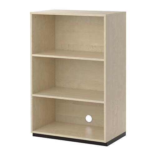 Regal 50 Cm Breit Galant Shelf Unit - Birch Veneer - Ikea