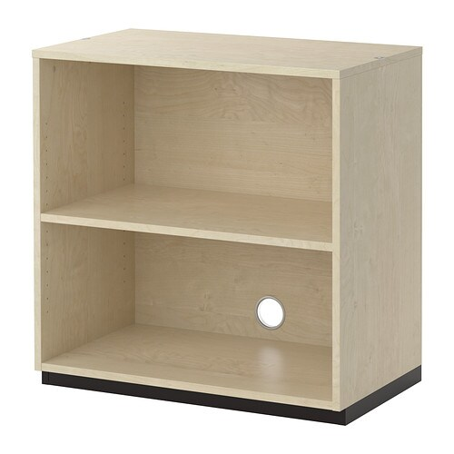 Schrank 1m Breit Galant Shelf Unit - Birch Veneer - Ikea
