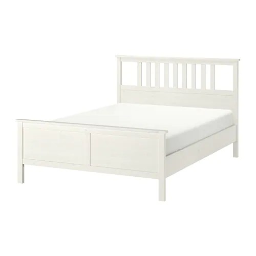 Ikea Bed 180x200 Hemnes Bed Frame - Full, -, White Stain - Ikea