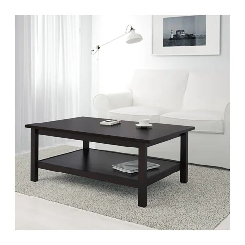 Couchtisch Java Hemnes Coffee Table - Black-brown - Ikea