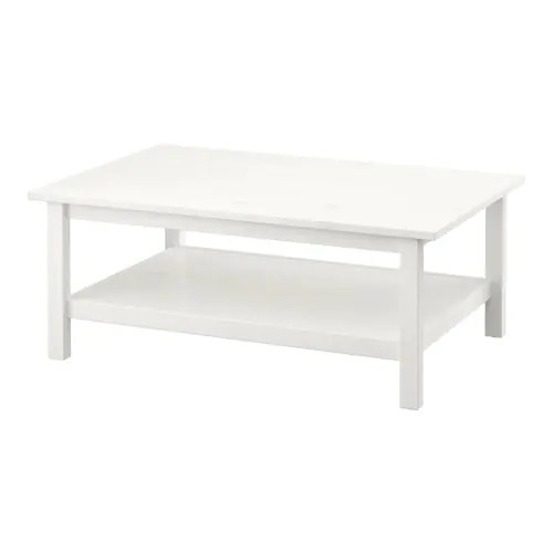 Couchtisch 80x80 Ikea Hemnes Coffee Table - White Stain - Ikea