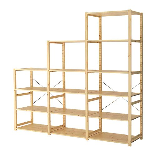 Ivar 3 Sections Shelves Ikea - Ikea Etager