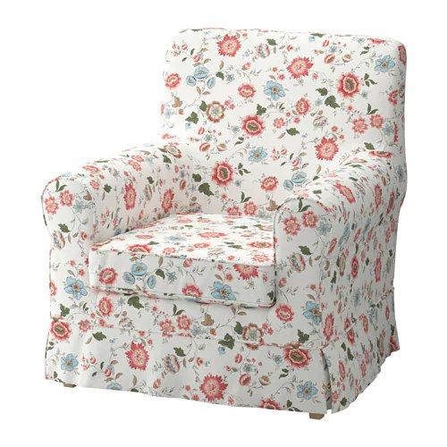 Bezug Sessel Ikea Jennylund Chair Cover - Videslund Multicolor - Ikea