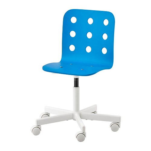 Ikea Stühle Jules Jules Child's Desk Chair - Blue/white - Ikea