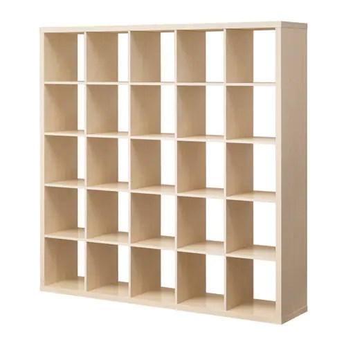 Kallax Shelving Unit Birch Effect Ikea - Ikea Etager