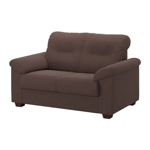 Knislinge Sofa Knislinge Loveseat - Samsta Dark Brown - Ikea