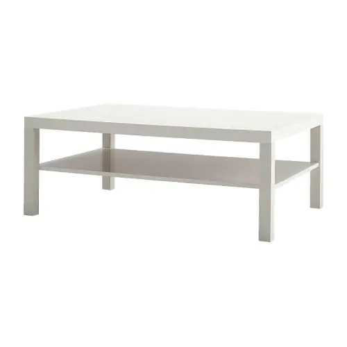 Ikea Couchtisch Mit Rollen Lack Coffee Table - White - Ikea