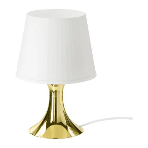 Ikea Lampe Gold Lampan Table Lamp - Ikea