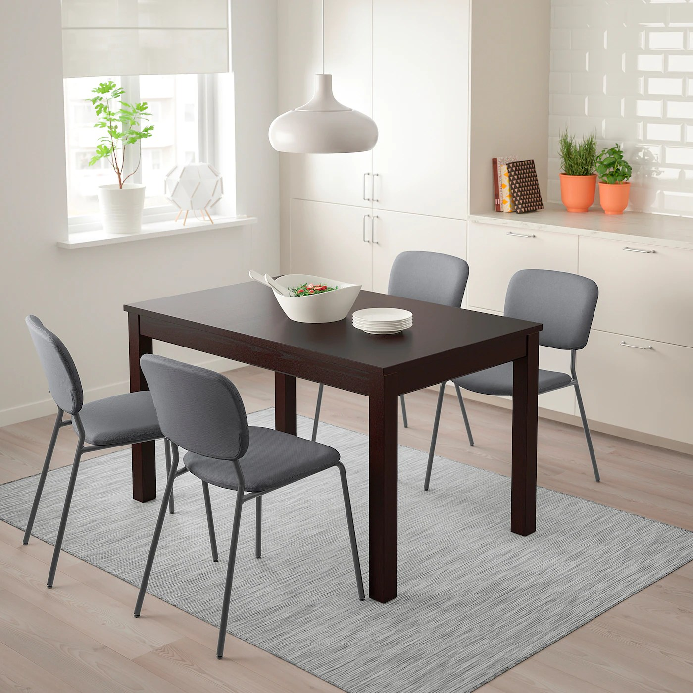 Laneberg Extendable Table Brown Ikea